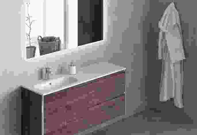 Baño con tirador incorporado